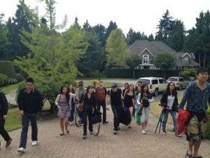 全世界优秀电影学院学生参加影协实习